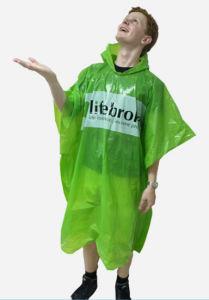 Promotional Disposable Plastic Raincoat