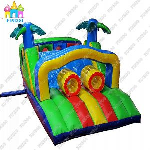 Hot Rainforest Inflatable Obstacle Combo for Kids and Adult pictures & photos