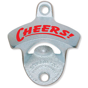 Wall Mounted Beer Bottle Opener with Silk-Screen Logo pictures & photos