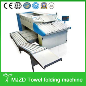 Industrial Used Hotel Towel Folding Machine pictures & photos