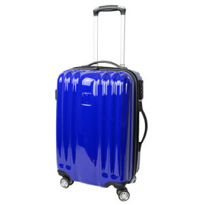 China New Designed Colorful PC Trolley Bag for Travelling, Camping.