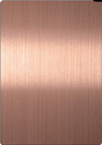 Stainless Steel Hl Sheet Hairline Rose-Ti Finish pictures & photos
