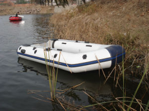 Liya 4.3m PVC 0.9mm Inflatable Rescue Boat Tender for Sale pictures & photos