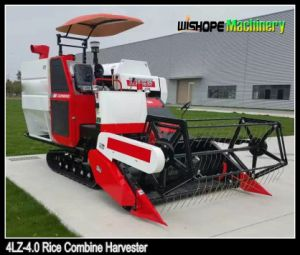 Agricultural Machinery Paddy Combine Harvester 4lz-4.0 pictures & photos