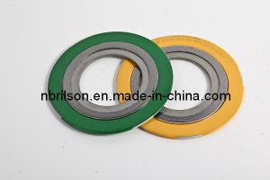 Ss304 316L Asme B 16.20 Spiral Wound Gasket Graphited with Inner & Outer Ring (RS1-CGI) pictures & photos