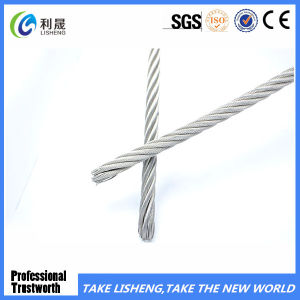 Hot Dipped Galvanized Steel Wire Rope 7X19 pictures & photos