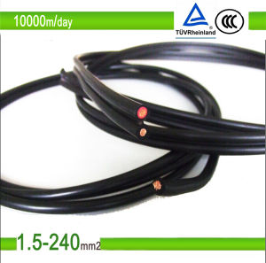 PV1-F TUV 35mm2 Solar Cable for Solar Panel System pictures & photos