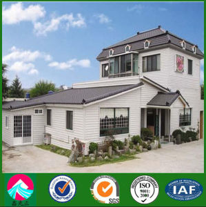 China Supplier Prefabricated Steel Structure Villa pictures & photos