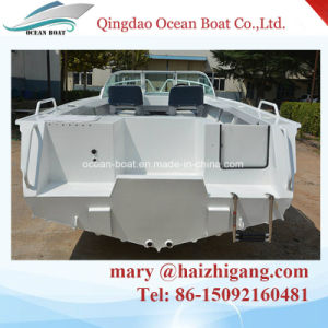 5.0m 17FT Runabout Aluminum Sport Fisherman Lesisure Open Boat Boat with Outboard Motor pictures & photos
