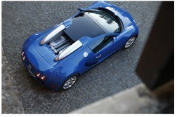 Bugatti Car TF Card Mini Speaker