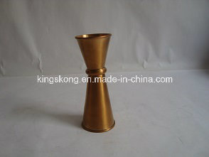High Quality Gold Plating Stainless Steel Jigger 20/40ml pictures & photos