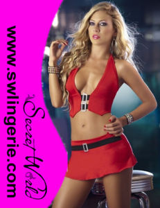 Sexy Clubwear Dress Lingerie 20085-Red