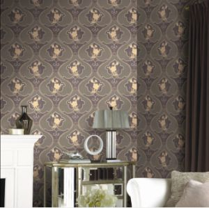 High Quality Heavy Embossed Wall Paper (Windsor 1303) pictures & photos