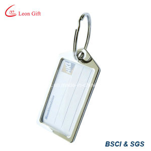 Custom Oblong / Rectangle Rubber Luggage Tag pictures & photos