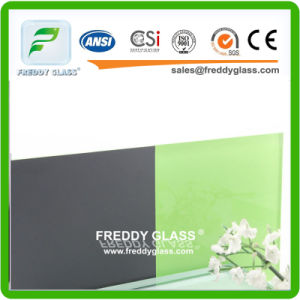 4mm Green Paint Glass/Painted Glass/Coated Glass/Lacquered Glass/Art Glass/Decorative Glass pictures & photos