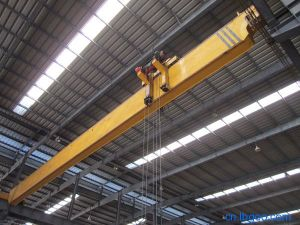 Wireless Remote Control 5 Ton Single Girder Overhead Bridge Crane pictures & photos