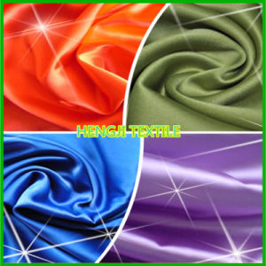 Cotton Fabric Elastic Satin with Good Quality (420-029)