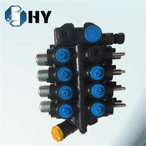 4 sections hydraulic directional valve Mobile control valve for crane pictures & photos