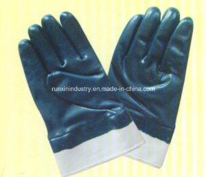 Nitrile Full Coated Gloves N2301 pictures & photos