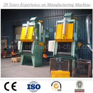 Crawl Tumblast Tumble Apron Belt Shot Blasting Machine with Ce ISO Certification pictures & photos