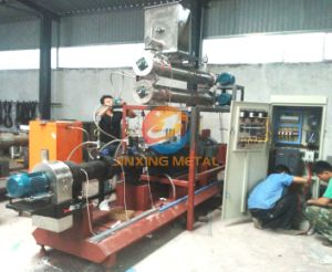 Tilapia Floating Fish Feed Pellet Extruder Machine pictures & photos