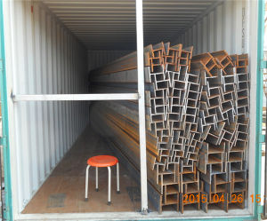 Q235/Q345 Hot Rolled Steel Structural Beam, Universal H Beam Steel pictures & photos