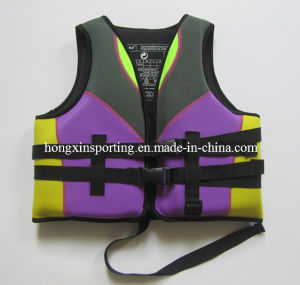 Waterproof Neoprene Life Jacket (HX-V0012) pictures & photos