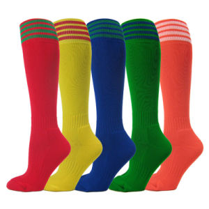 Custom Knitted Sports Soccer Football Rugby Socks with Low MOQ pictures & photos