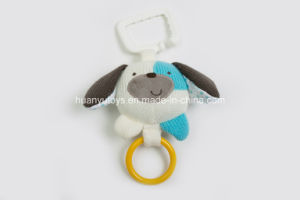 Factory Supply Knit Sweater Fabric Baby Bell-Pull Toy pictures & photos
