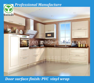 China Modern High Quality PVC Kitchen Designs pictures & photos