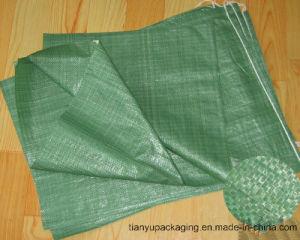 PP Woven Bag Sewn Open Mouth Bag pictures & photos