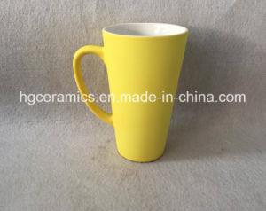 16oz Big Latte Mug with Rubber Feel Coating, Rubber Feel 16oz Latte Mug pictures & photos