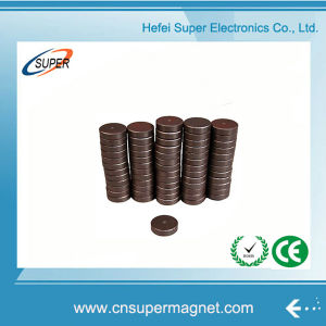 Customize Permanent Ferrite Magnet Disc Used for Industrial Field Ceramic Magnet pictures & photos