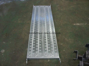 Scaffolding Plank, Scaffolding Walking Board, Galvanized Steel Plank for Construction pictures & photos