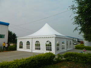 8X8m Outdoor PVC Canvas Pop up Dome Pagoda Tent pictures & photos