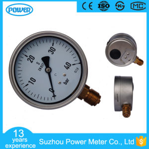 100mm Liquid Pressure Gauge of 40 Bar Range pictures & photos