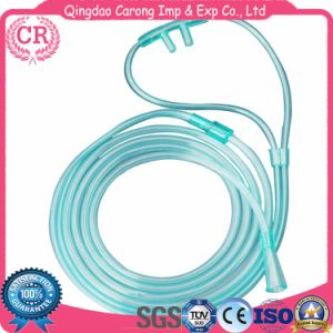 Disposable Medical PVC Nasal Oxygen Tube pictures & photos