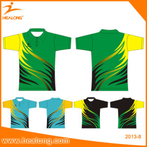 Healong Customized and Personalized Sublimation Polo Shirt pictures & photos