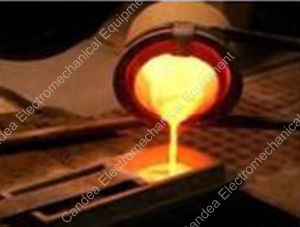 Iron Brass Melting Medium Frequency Coreless Induction Heating Furnace If-25kVA pictures & photos