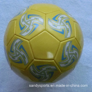 Custom Logo Promotion PVC Leather Soccerball pictures & photos