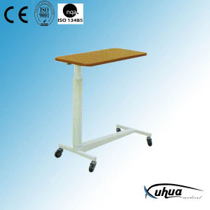 Hospital Medical Moveable Cantilever Dinner Table (L-2) pictures & photos