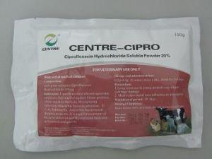 Ciprofloxacin Hydrochloride Soluble Powder 20%