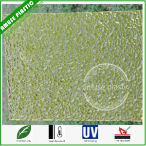 Impact Resistance Embossed Polycarbonate Sheet Durable Plastic PC Panels pictures & photos