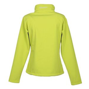 Womens Fashion Windproof Softshell Jacket with Fleece Padding pictures & photos