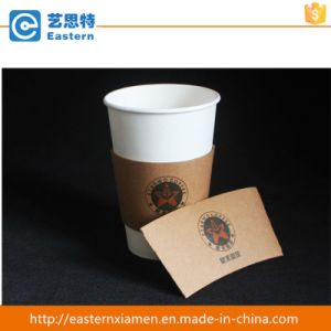 Custom Logo Printed Kraft Paper Coffee Cup Sleeve pictures & photos