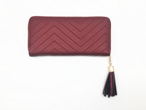 Fashion High Quality PU Leather Women Wallet Wt21 pictures & photos