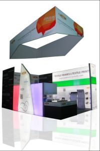 Aluminum Textile Frame LED Light Box Exhibition Booth pictures & photos