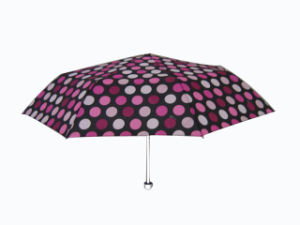 21inch Aluminum Frame Folding Rain Umbrella (3FU020) pictures & photos