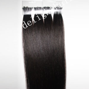 a Quality Keratin Hair Extension Nail Tip Straight Hair Nhk003