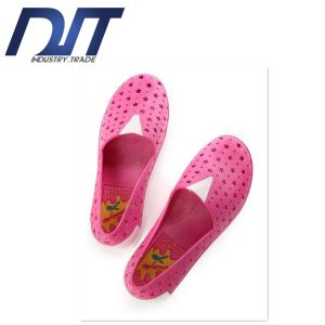 Creative New Summer Fashion Hole PVC Flat Plastic Shoes pictures & photos